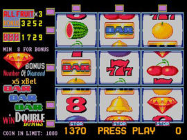 Fruit Bonus 96 Main Game