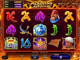 Aladdin's Adventure Main Game