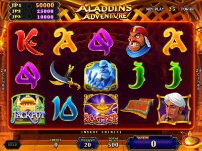 Aladdin's Adventure Main Game