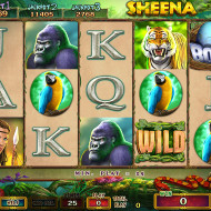 Sheena Main Game