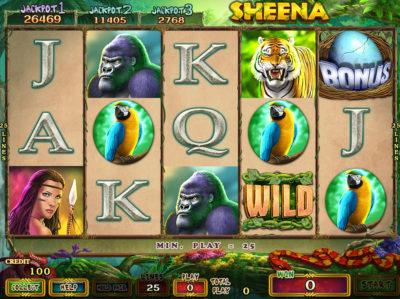 Sheena Main Game