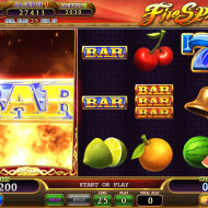 Fire Spin Feature game