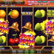 Fire Spin Bonus Game