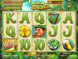 Show Me Shamrock Main Game