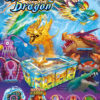Image of ThunderDragon game cabinet, blazing dragon, sea monster, fire dragon turtle.