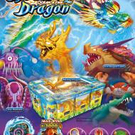 Image of ThunderDragon game cabinet, blazing dragon, sea monster, fire dragon turtle.