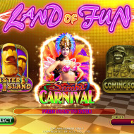 Land Of Fun Main Menu