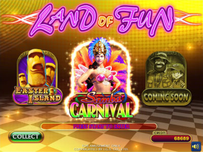 Land Of Fun Main Menu