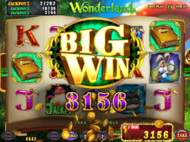 Wonderland Big Win