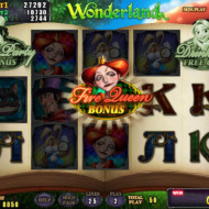 Wonderland Bonus game