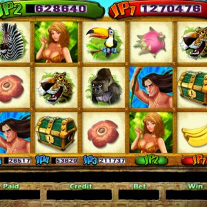 Jungle Storm 25 Main Game