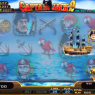 Captain Jack 2 Golden Cannon Feature