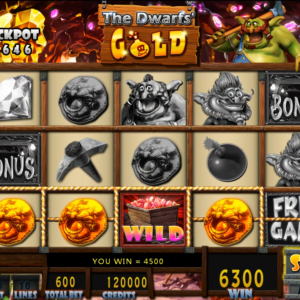 The Dwarfs' Gold Vertical Game